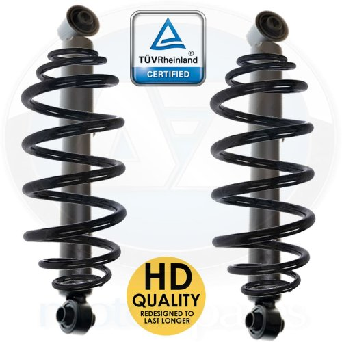 For Mercedes VITO 109 110 111 W639 CDI Rear suspension coil spring shockers kit