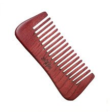 Retro Premium Quality Hair Care Comb Antistat Rosewood Curly Hair Comb