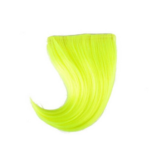 Colorful Wigs for Cosplay,Stage/Party Wig/Hair Bangs Wig,Bright Green