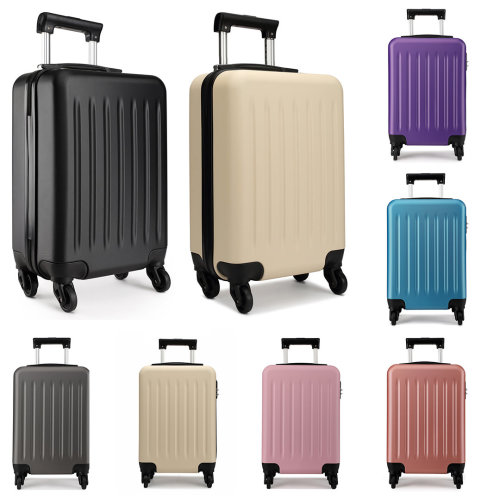 KONO Luggage Suitcase Travel Bag 4 Wheels Spinner Hard Shell ABS 24 Inch