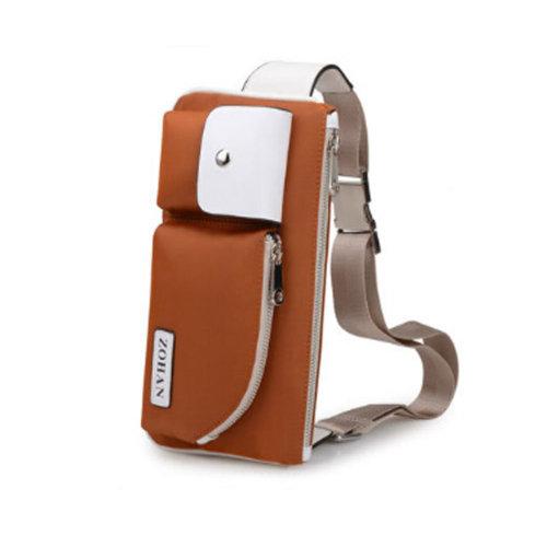 Durable Multifunctional Men and Women's Wrist Bag Sport Bag Orange