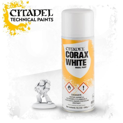 Warhammer Paint: Corax White Spray