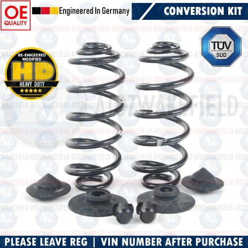 FOR BMW 5 SERIES TOURING E39 REAR AIR BAG SUSPENSION TO COIL SPRING CONVERSION