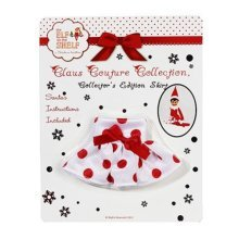 Claus Couture Elf on the Shelf Skirt Collectors Edition 2012