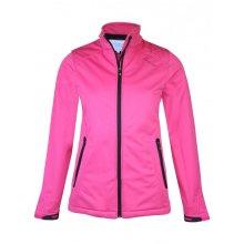 ProQuip Isla Full Zip Soft Shell Wind 360 Jacket Pink Large