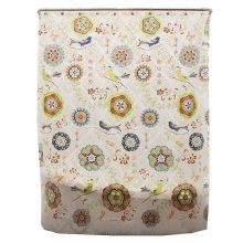Bathroom Shower Curtains Children Waterproof Shower Curtains [Flowers]