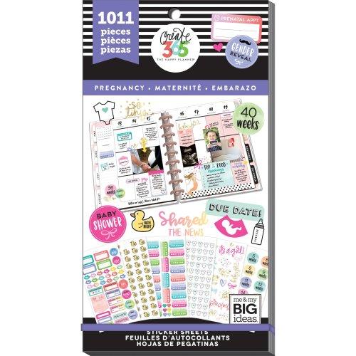 Happy Planner Sticker Value Pack-Pregnancy, 1011/Pkg
