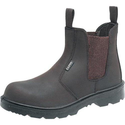 Scruffs CHEVIOT Safety Waterproof Hiker Boots Black (Sizes 7-12) Men's Steel Toe