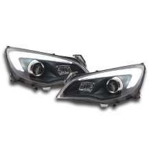 Headlight Opel Astra J 5-door Year 2009-2012 black Asia-model
