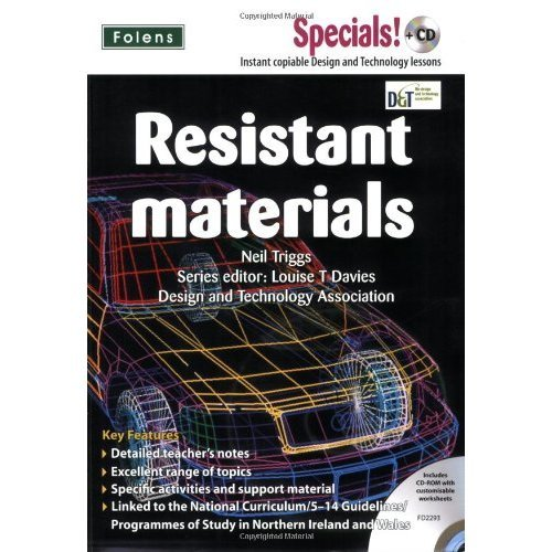 Used Secondary Specials Cd Design And Technology Resistant