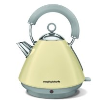 Morphy Richards Accents Pyramid Kettle 1.5L Capacity - Cream (Model No. 102032)
