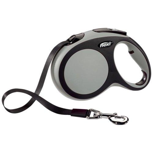 Flexi Tape Leash New Comfort Size L 5 m Grey 21361