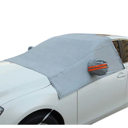 Auto Windshield Snow Cover All Seasons Visor Protector For Cars Car Windshield Cover In Winter #1