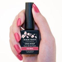 Magic Hana One Step UV LED Gel Polish Pink?102 Bliss