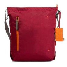 Crumpler DZPS-S-010 Medium Doozie Photo Shoulder Camera Sling Bag with 13-Inch Laptop Compartment - Red/Orange
