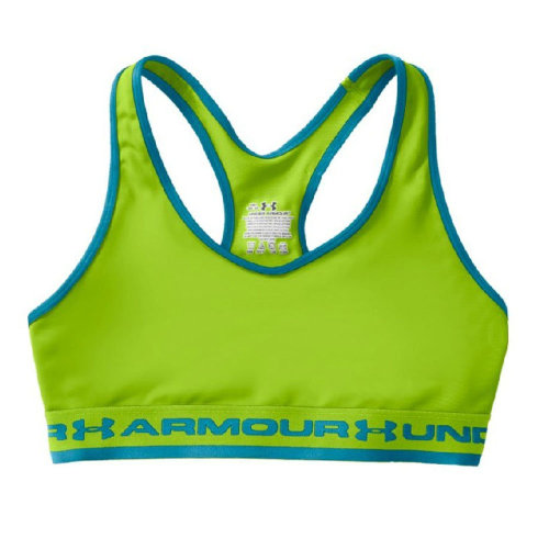 Under Armour Gotta Have It Womens Ladies Fitness Sports Bra Green - UK 10-12