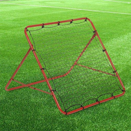Rexco Rebounder Net Target Ball Kickback Soccer Goal Football Training Game Aid