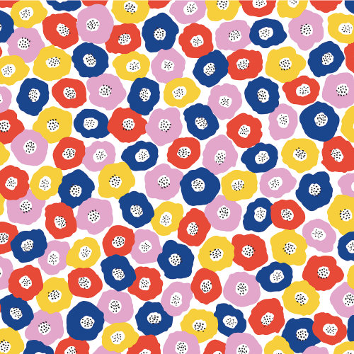 """American Crafts Floral Single-Sided Cardstock 12""""X12""""-Heaps Of Love"""