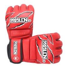 Adult Boxing Gloves Half Finger Gloves/ Fighting/ Training gloves-a