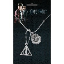 Harry Potter Crest & Hallows Dog Tag