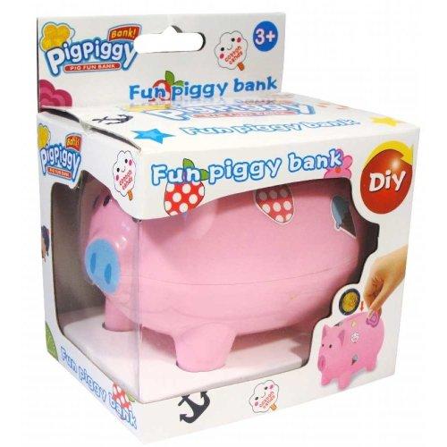 12pc Plain Piggy Banks | Set Of Decorate Your Own Piggy Banks