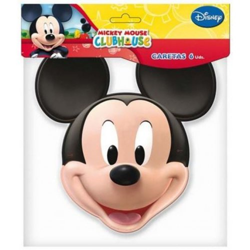 6 Mickey Mouse Masks