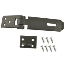 Heavy Duty Cast Iron 830mm Hasp and Staple Security Garage Shed TE158