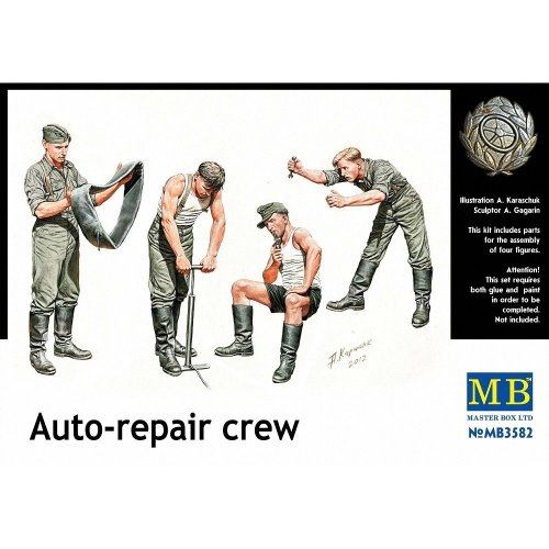 Mas3582 - Masterbox 1:35 - Auto Repair Crew