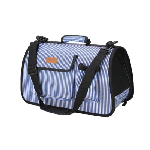 Pet Carrier Soft Sided Travel Bag for Small dogs & cats- Airline Approved #51