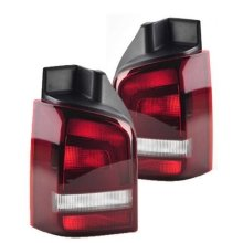 Volkswagen Transporter T5 2010-> Rear Tail Lights 1 Pair O/s & N/s