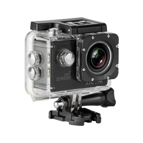 SJCAM SJ4000 Wi-Fi 98 ft Waterproof 12 MP 2.0-Inch Full HD 1080p Sports Action Camera - Black