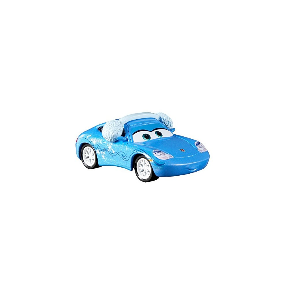 Christmas Joy Cast.Disney Pixar Cars Die Cast Christmas Joy Snow Day Sally Car Figure