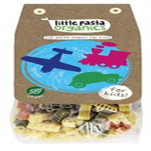 Little Pasta Organics Travel Shaped Pasta 250g