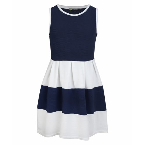Girls Sleeveless Skater Dress
