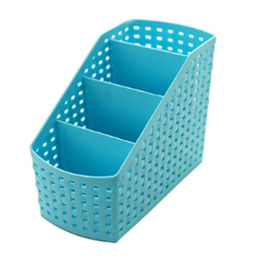 Lovely Small Practical Storage Basket Desktop Receive Container,BlUE