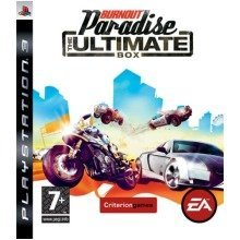 Burnout Paradise the Ultimate Box Sony Playstation 3 Ps3 Game