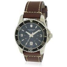 Swiss Army Victorinox Maverick Leather Mens Watch 249107