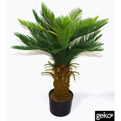 Artificial Large 90cm Cycas Tree Potted Realistic Foliage Plant