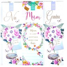 2019 Parent Grandparent Slim Wall Calendar Mum Grandma Nan Nanna Grandmother Granny Christmas Birthday Gift