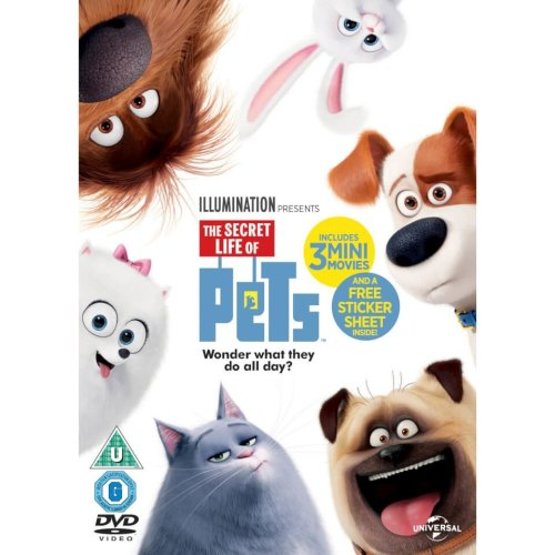 The Secret Life of Pets DVD | 2016
