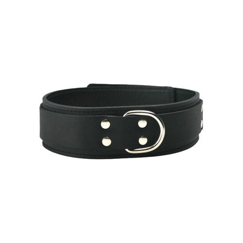 Strict Leather Standard Lined Collar  BDSM Bondage - Strict Leather