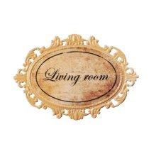 Retro Coffee Shop/Bar/Lounge Notice Board Funny Home Decor Plague[Living Room]