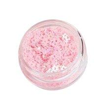 5 Boxes Makeup Glitter Sequins Shining Nail Art Sequins Face Glitter, Star Pink