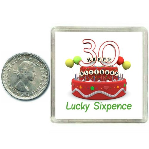 30th Birthday Lucky Sixpence Gift Great Good Luck Present Idea For Man Or Woman On OnBuy