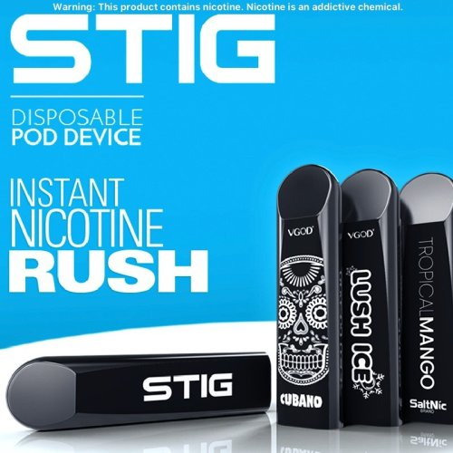 VGOD® STIG 1.2ML DISPOSABLE Vaping Pods 4 Flavors