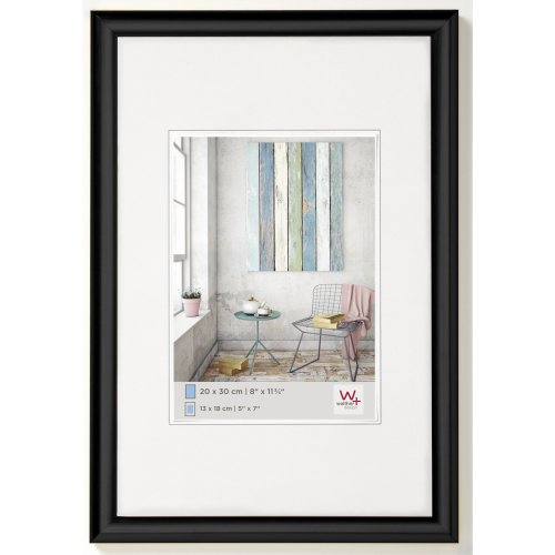 walther design KP080B Trendstyle picture frame, 23.50 x 31.50 inch (60 x 80 cm), black