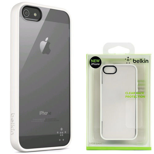 new product 94713 d3dec Belkin Case View Candy for iPhone 5/5s/SE - WHITE CLEAR - F8W153vfC07