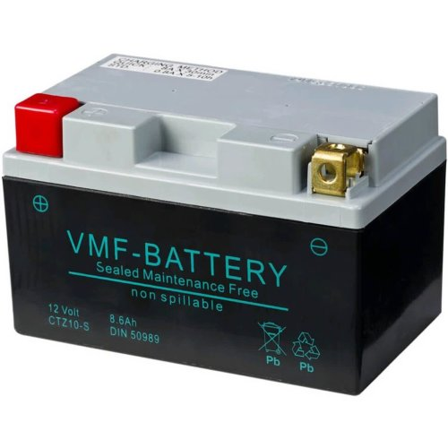 VMF Powersport AGM Battery 12 V 8.6 Ah FA YTZ10-S