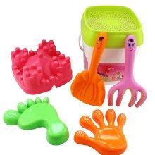 Children's Seaside Toys Seven Pieces Beach Toys Set Kids' Sand Toys Random Color