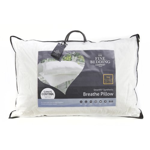 The Fine Bedding Company Breathe Pillow - Highly Breathable Hypo Allergenic Pillow